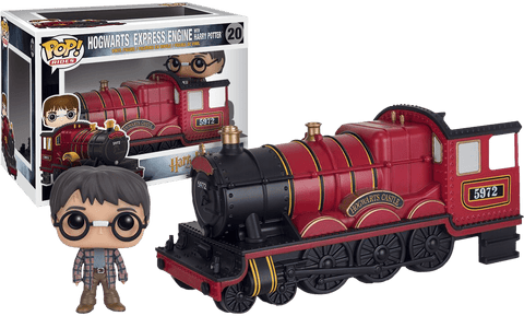 Harry Potter - Harry Potter With Hogwarts Express Engine Pop! Ride Vinyl Figure - More Toys Malaysia