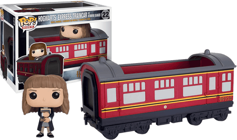Harry Potter - Hermione Granger With Hogwarts Express Engine Pop! Ride Vinyl Figure - More Toys Malaysia