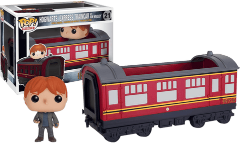 Harry Potter - Ron Weasley With Hogwarts Express Engine Pop! Ride Vinyl Figure - More Toys Malaysia