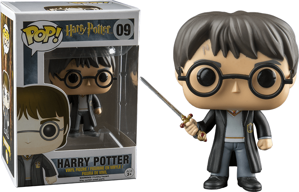 Movies: Harry Potter - Harry Potter With Sword Pop! Vinyl Figure - More Toys Malaysia