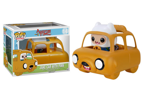 Adventure Time - Jake Car With Finn Pop! Ride Vinyl Figure - More Toys Malaysia