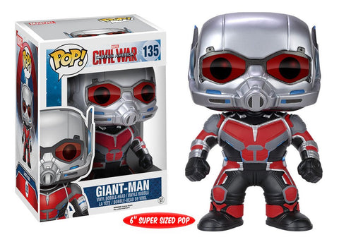 "Marvel: Captain America 3 : Civil War - Giant-Man 6"" Pop! Vinyl Figure - More Toys Malaysia"