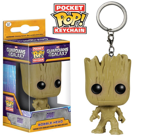 Guardians Of The Galaxy - Groot Pocket Pop! Keychain - More Toys Malaysia