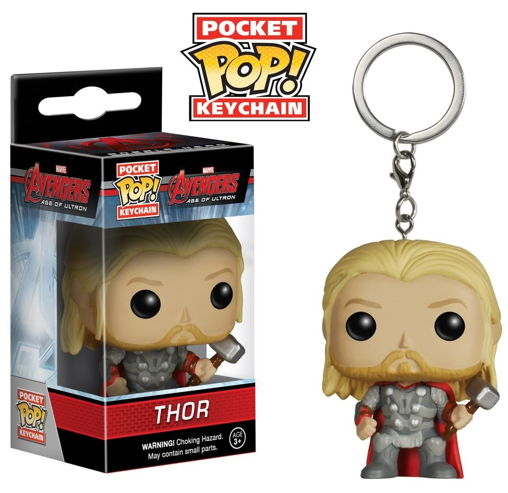 Avengers 2 - Thor Pocket Pop! Keychain - More Toys Malaysia