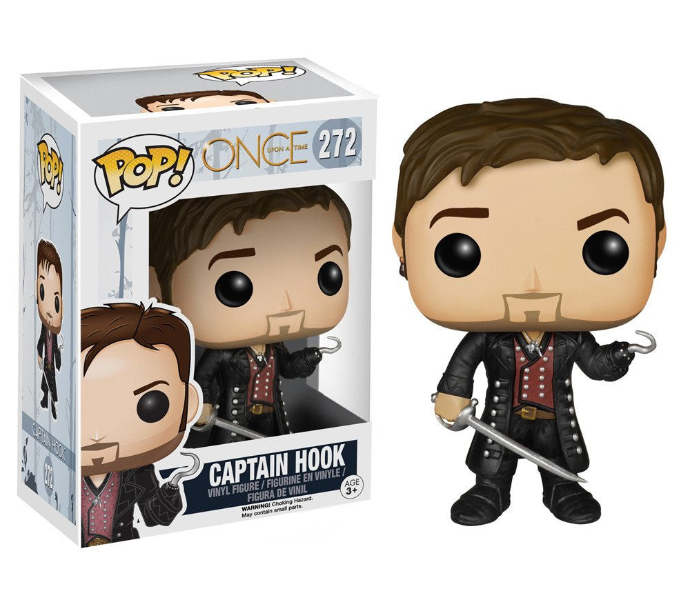 TV: Once Upon A Time - Captain Hook Pop! Vinyl Figure - More Toys Malaysia