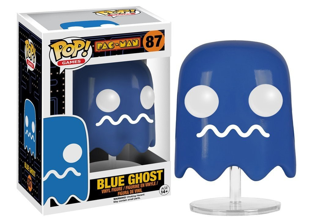 Games: Pac-Man - Blue Ghost Pop! Vinyl Figure - More Toys Malaysia