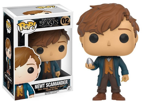 Fantastic Beasts And Where To Find Them - Newt Scamander with egg Pop! Vinyl Figure - More Toys Malaysia