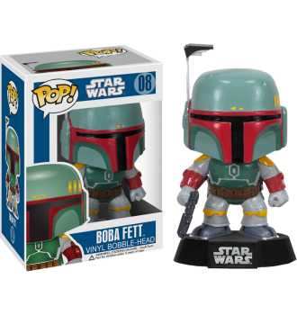 Star Wars - Boba Fett Pop! Vinyl Figure - More Toys Malaysia