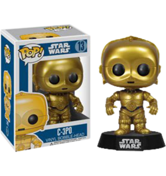 Star Wars - C-3PO Pop! Vinyl Figure - More Toys Malaysia