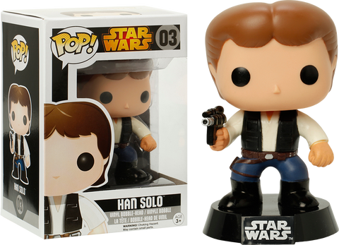Star Wars - Han Solo Pop! Vinyl Figure - More Toys Malaysia