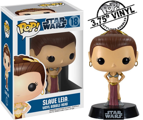 Star Wars - Slave Leia Pop! Vinyl Figure - More Toys Malaysia