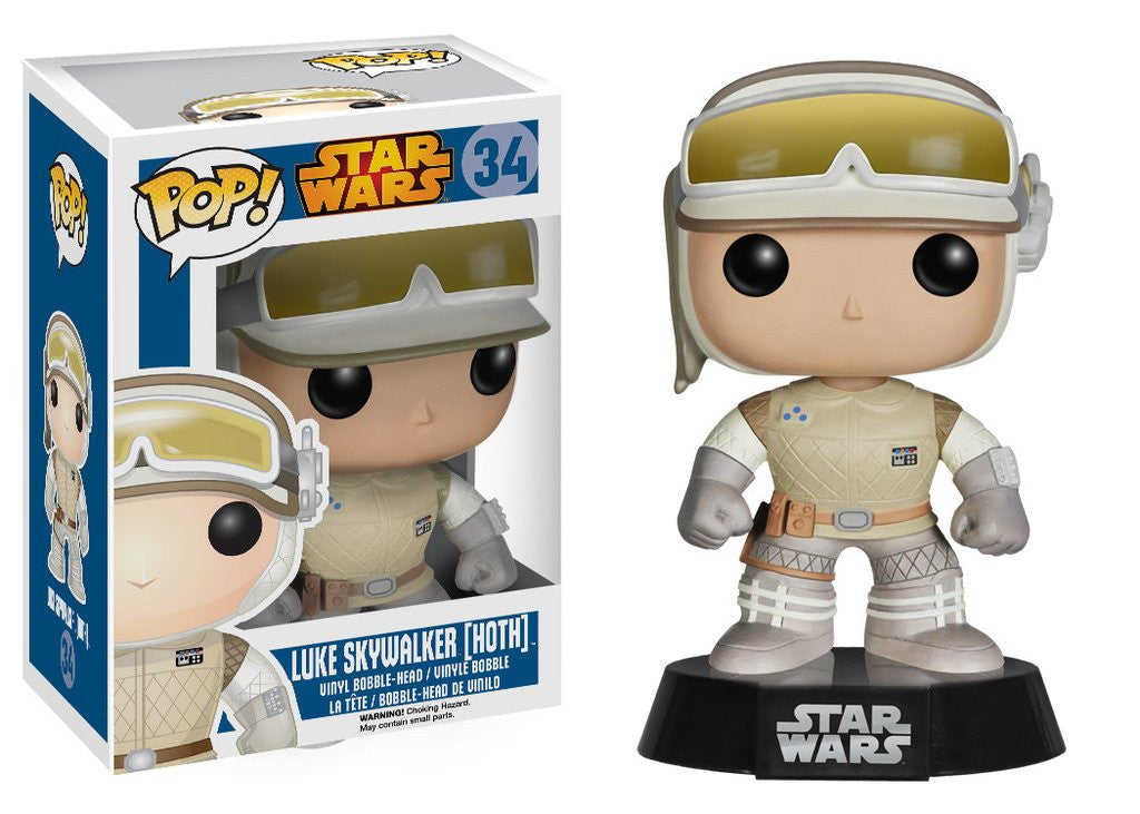 Star Wars - Hoth Luke Pop! Vinyl Figure - More Toys Malaysia