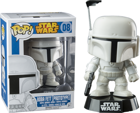 Star Wars - Boba Fett (Prototype) Pop! Vinyl Figure - More Toys Malaysia