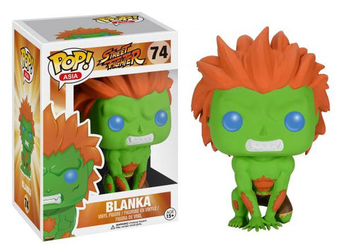Asia: Street Fighter - Blanka Pop! Vinyl Figure - More Toys Malaysia