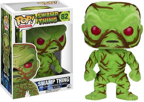 DC: Swamp Thing - Swamp Thing Flocked Pop! Vinyl Figure - More Toys Malaysia