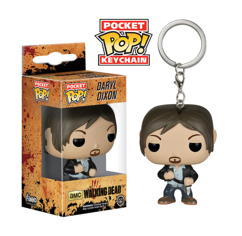 The Walking Dead - Daryl Dixon Pocket Pop! Keychain - More Toys Malaysia