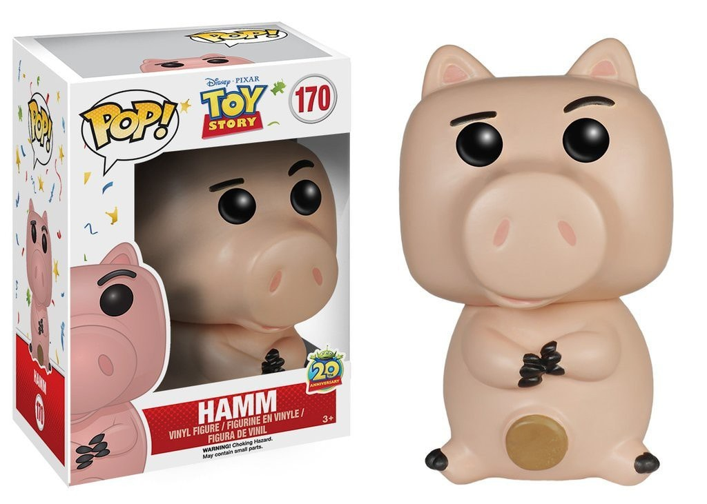 Disney: Toy Story - Hamm Pop! Vinyl Figure - More Toys Malaysia