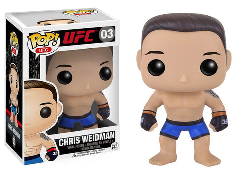 UFC - Chris Weidman Pop! Vinyl Figure - More Toys Malaysia