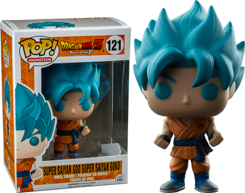 Animations: Dragon Ball Super - Super Saiyan God Super Saiyan Goku Pop! Vinyl Figure