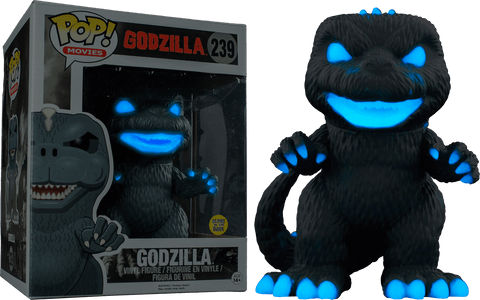 Movies: Godzilla Atomic Breath Glows In The Dark (6 Inch) Pop! Vinyl Figure - More Toys Malaysia