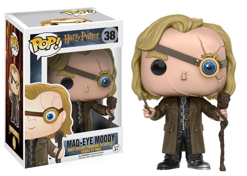 Harry Potter - Mad Eye Moody Pop! Vinyl Figure - More Toys Malaysia
