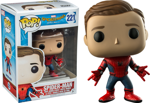 Marvel: Spiderman Homecoming - Spiderman Unmasked Pop! Vinyl Figure