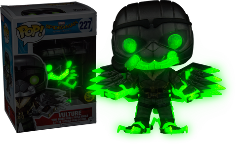 Marvel: Spiderman Homecoming - Vulture Glows in The Dark Pop! Vinyl Figure
