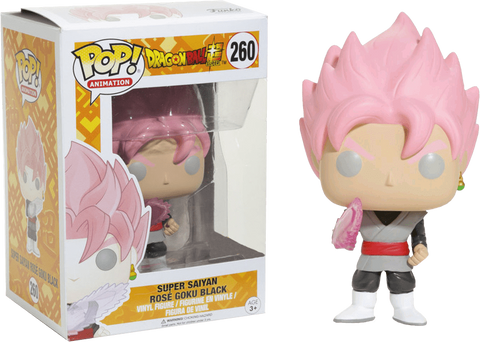 Animations: Dragon Ball Super - Super Saiyan Rose Goku Black Pop! Vinyl Figure