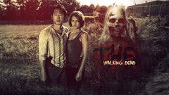 Home Decoration - The Walking Dead - Glenn and Maggie Green - Poster - Favorite Memorabilia