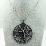 Jewelry - Game of Thrones - 8 styles of Family/House Crest - Metal Pendant Necklace - Favorite Memorabilia