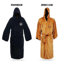 - Star Wars Darth Vader / Jedi Adult Bathrobe Robes Coral Fleece - Favorite Memorabilia