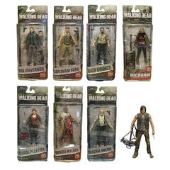 - The Walking Dead Abraham Ford, Bungee Walker, Rick Grimes, Daryl Dixon, Michonne, The Governor, Hershel Green, Carol Peletier Action Figure Collectible Model Toy - Favorite Memorabilia
