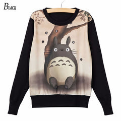 Totoro Under a Tree Long Sleeve Shirt