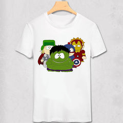 Shirts - South Park - Super Heroes - Funny Geek Designs - Variety Shirt - Favorite Memorabilia