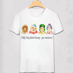 Shirts - South Park - Retro Gang - Funny Geek Designs - Variety Shirt - Favorite Memorabilia