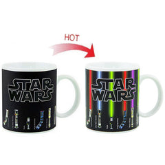 - Star Wars Lightsaber Heat Reveal Color Mug - Favorite Memorabilia