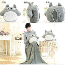 Totoro Supreme Softness Doll / Pillow 33 * 38cm, Blanket 95 * 75cm