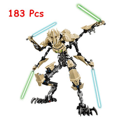 - Star Wars General Grievous with Lightsaber Figure - Favorite Memorabilia