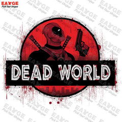 "Shirts - Deadpool ""Dead World"" Fashion Shirt - Favorite Memorabilia"