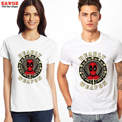 "Shirts - Deadpool ""Deadly Weapon"" Fashion Shirt - Favorite Memorabilia"