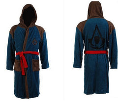 - Assassins Creed 4 Bath Robe Edward Kenway Hoodie Cosplay Costume - Favorite Memorabilia