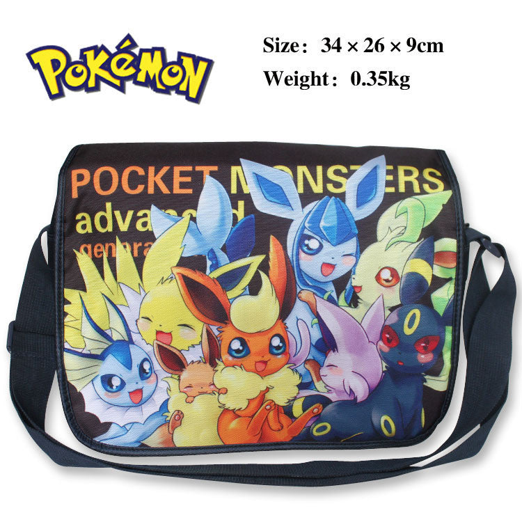 - Pokemon Shoulder Bag w/ Pikachu Type E - Favorite Memorabilia