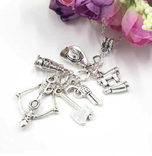 The Walking Dead Zombie Charms Pendant
