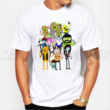 - The Walking Dead / Rick And Morty / Adventure Time Shirt - Favorite Memorabilia