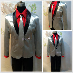 Suicide Squad Joker Cosplay Costume Outfit - Full Set