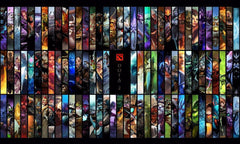 - DotA 2 All Hero Poster Multiple Sizes! - Favorite Memorabilia