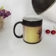 Kitchen & Dining - The Walking Dead - Temperature Color Changing Coffee / Tea Mug / Cup - Favorite Memorabilia