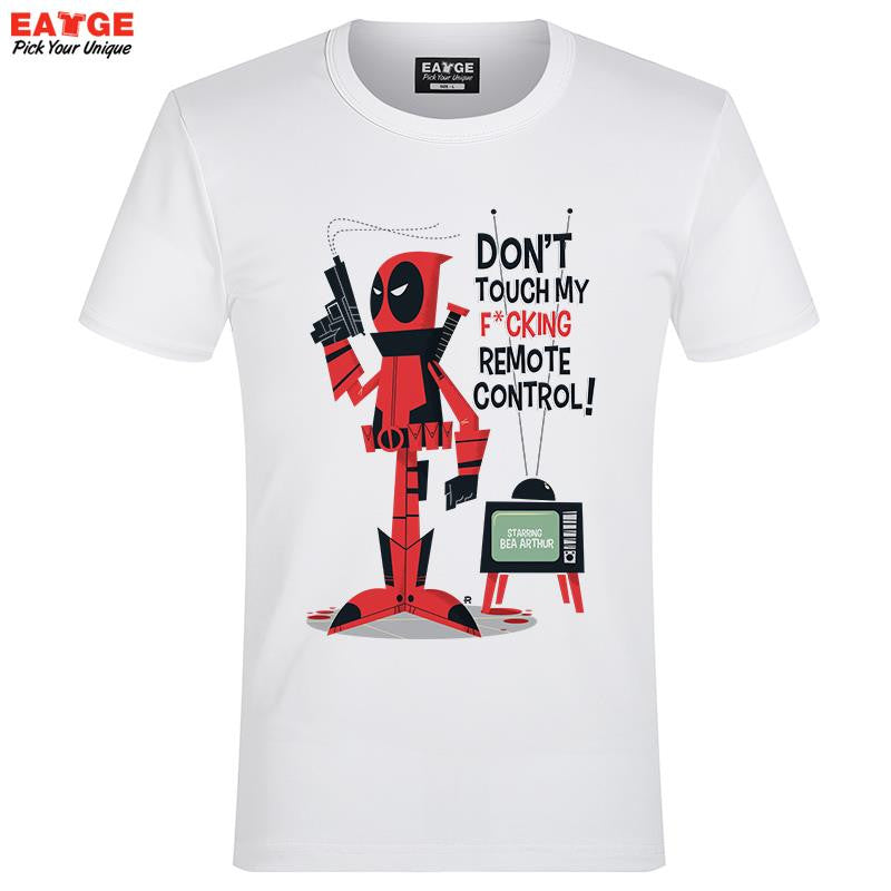 "Shirts - Deadpool ""My Remote"" Fashion Shirt - Favorite Memorabilia"