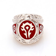 World of Warcraft Horde Logo Ring
