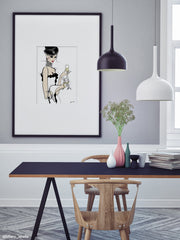 It's a Cats Life - Illustration - Limited Edition Print - Tiffany La Belle